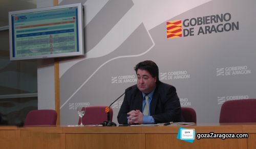El director general de carreteras, Antonio Ruspira